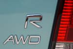 Volvo AWD R badge