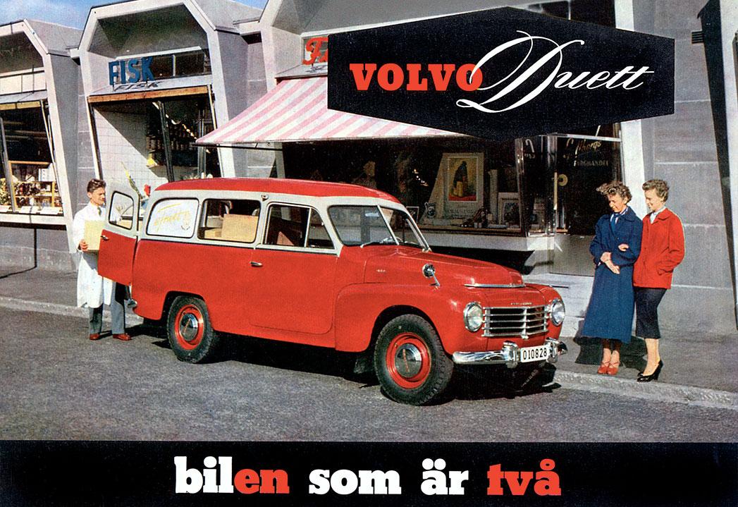 Volvo PV444 and PV544 Information