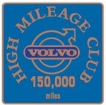 Bronze Class High Mileage Club Badge