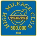 Gold Class High Mileage Club Badge