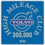 Silver Class High Mileage Club Badge