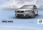 Volvo V50 Owners Manual