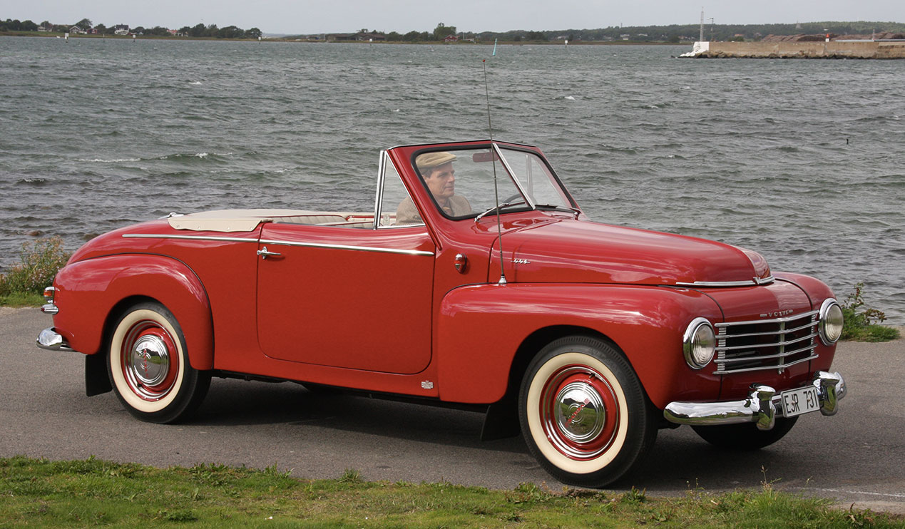 Volvo PV444 and PV544 Information
