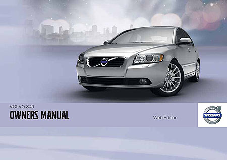 Volvo S40 V40 Owners Manual