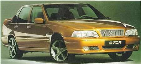 Volvo S70R and V70R