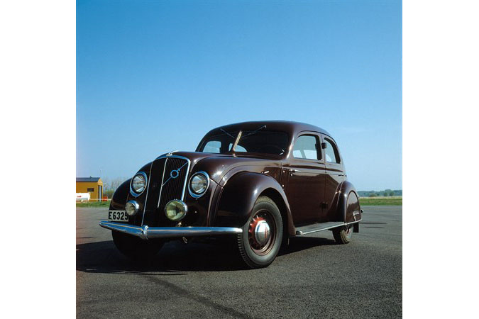 Volvo History. The 1930s