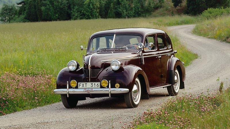 Volvo History. PV60