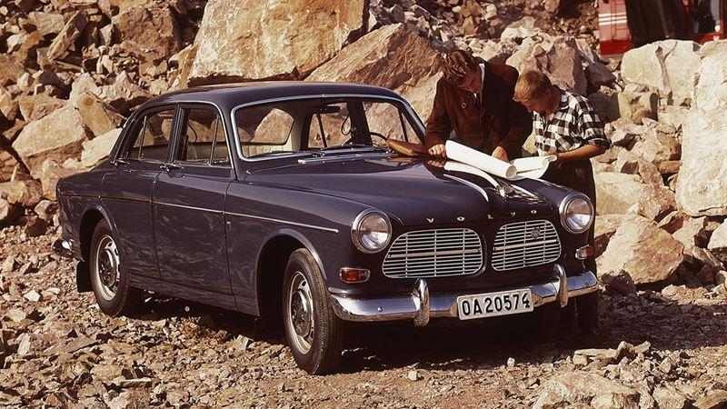 Volvo History. Volvo P120