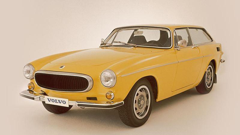Volvo History. Volvo 1800ES