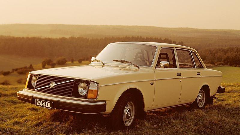 Volvo History Volvo 244