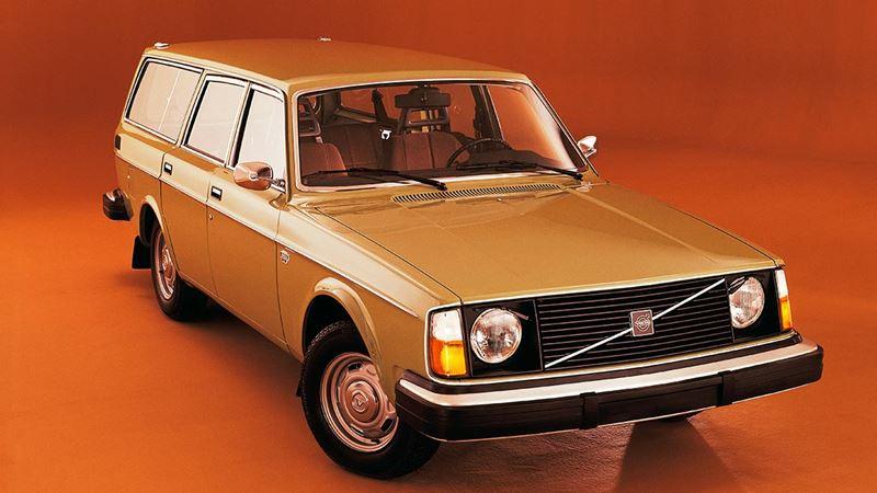 Volvo History Volvo 245