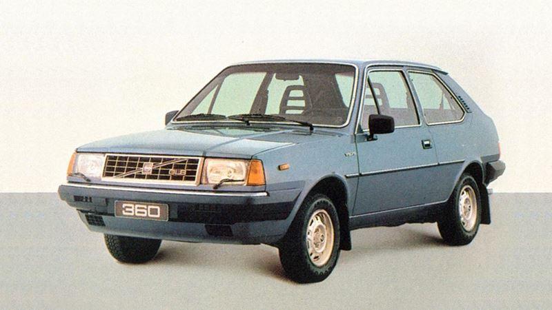 Volvo History. Volvo 360 3 Door