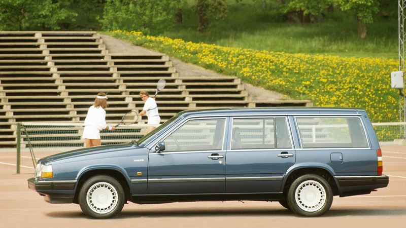 volvo cars 1980s. volvo 760 estate (1985-1990) cars 1980s o