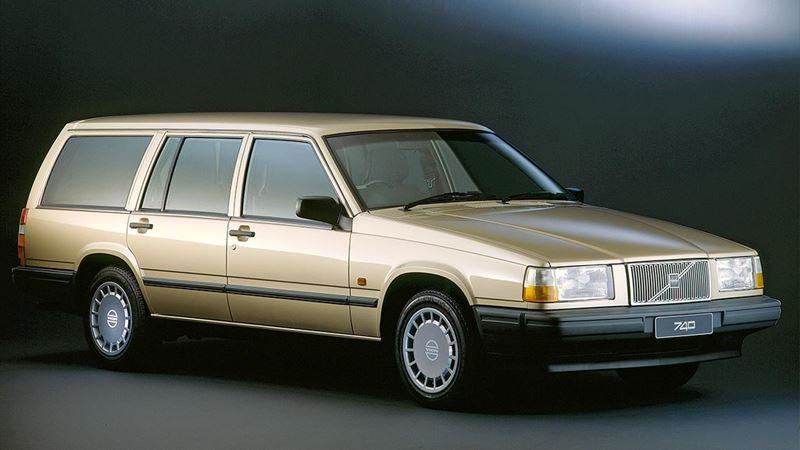 Volvo History. Volvo 740 Estate or Wagon
