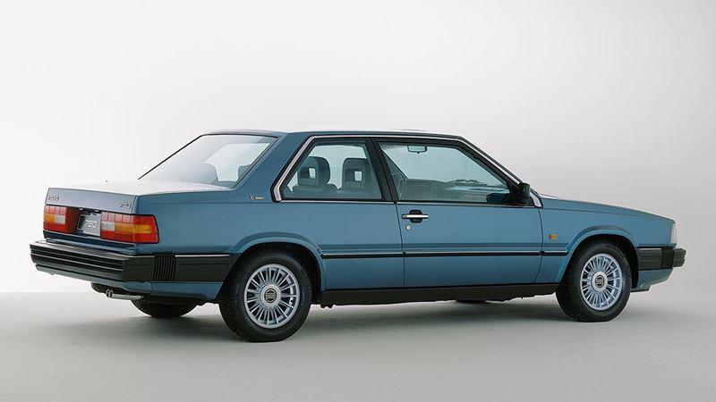 Volvo History. Volvo 780
