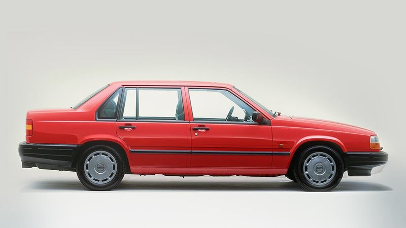 volvo history volvo 940 saloon or sedan. Black Bedroom Furniture Sets. Home Design Ideas