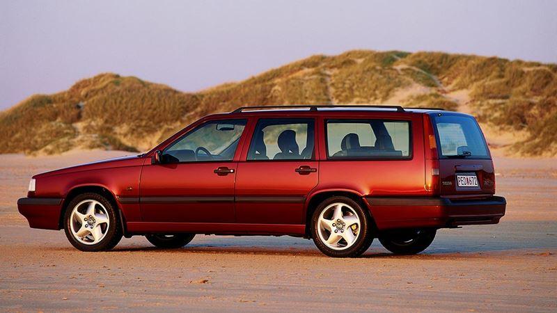 Volvo History. Volvo 850 Estate or Wagon