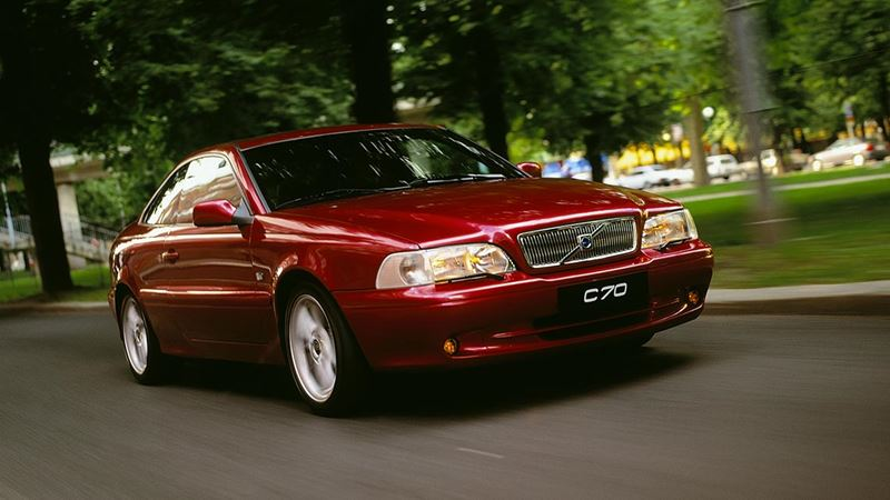 volvo history volvo c70 coupe. Black Bedroom Furniture Sets. Home Design Ideas