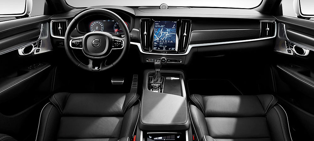 Volvo s90 v90 r design models for A r interior decoration llc
