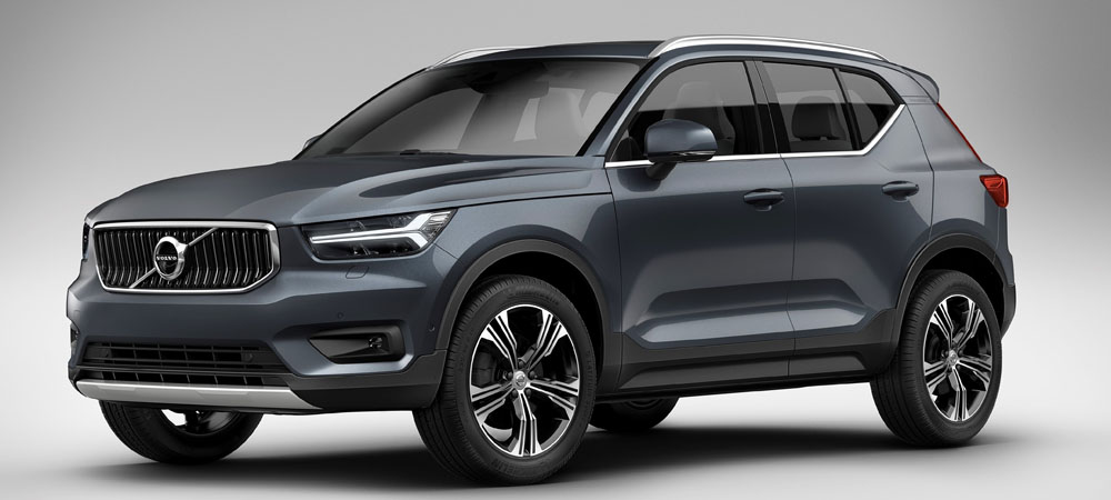 volvo xc40 with drive e three cylinder engine. Black Bedroom Furniture Sets. Home Design Ideas