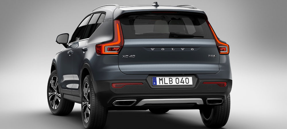 Volvo XC40 with Drive-E three cylinder engine