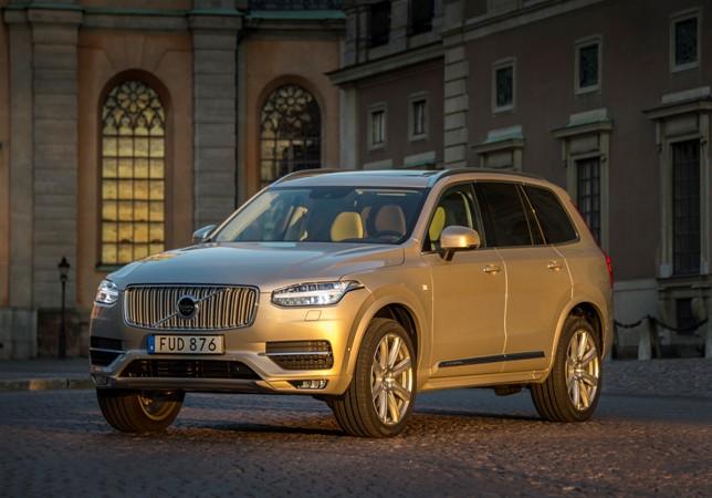 Volvo XC90 courtesy car at the Swedish Royal Wedding